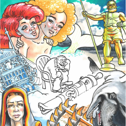 Kinderboek Schorre Cor het kanon van Zierikzee